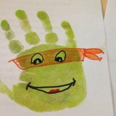 empreinte de main enfant activité