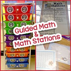 Here is a Bright Idea blog post about Guided Math and Math Stations. Some great ideas and lots of pics too!