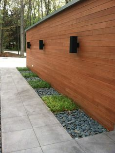 Using Wood To Edge A Bed Instantly Adds A Casual Organic And - Amazing outdoor design by apex landscapes