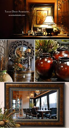 tuscan decor accessories at accents of salado tuscan