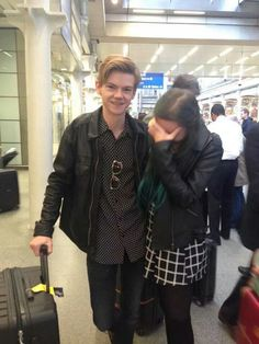Thomas and a fan>> this would be me-except I would be sobbing on the floor