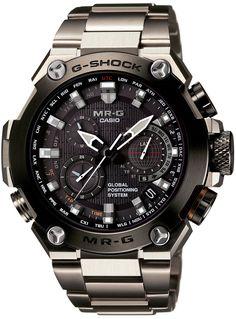 Amazon.co.jp: [カシオ]CASIO 腕時計 G-SHOCK MR-G GPSハイブリッド電波ソーラー MRG-G1000D-1AJR メンズ: 腕時計通販