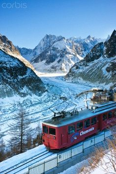 Train du Montenvers  - Chamonix ~ French Alps
