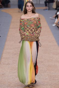 Chloé Spring 2016 Ready-to-Wear Fashion Show - Romy Schonberger (Viva)