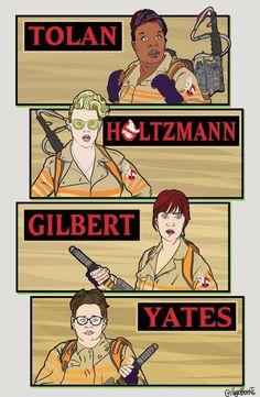 Calling New Ghostbusters! #teamghostbusters @paulfeig @melissamccarthy @Lesdoggg
