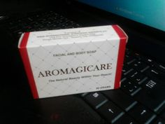 Aromagicare Facial And Body Whitening Soap Organic Oil Fruit And Leaf Extract Soap (90gms)