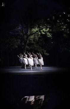 Lago de los Cisnes. Cuerpo de Baile.