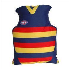 AFL Adelaide Jersey Cushion C A Australia