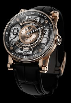 """I like this watch, but at $98,000, it falls of my <$500 list.... MCT Sequential Two S200 Watch - by Ariel Adams - Learn and see more on aBlogtoWatch.com """"For 2014 MCT has announced a brand new watch with the Sequential Two S200, a new round-cased timepiece that focuses on the brand's signature complication for displaying the time with a new micro-rotor-based automatic movement."""