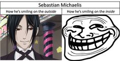 sebastian michealis as a lady | Sebastian Michaelis... XD - Random Fan Art (30797131) - Fanpop ...