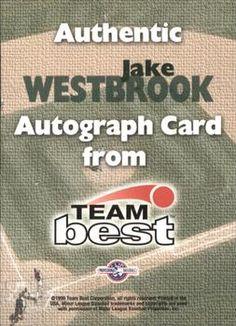 1999 Team Best - Autographs #NNO65 Jake Westbrook Back