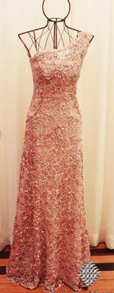 2017 New Style Prom Dress Blush Pink One Shoulder Evening Gowns