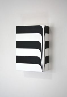 Richard Roth's Three Dimensional Abstraction – Trendland Online Magazine Curating the Web since 2006 Geometric Sculpture, Abstract Sculpture, Sculpture Art, Abstract Paintings, Zebra Illustration, Nathalie Du Pasquier, Hard Edge Painting, Stippling Art, 3d Wall Art
