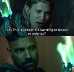 """The Shannara Chronicles 1x01/1x02 """"Chosen"""" In which Allanon is exasperated, but Wil is also kind of right, now that I think about it."""