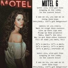 Lana Del Rey - Motel 6