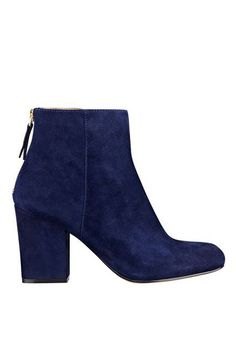 24 Unexpected Ankle Boots You Didn't Know You Needed #refinery29  http://www.refinery29.com/colorful-boots#slide-15  You can do anything, but lay off my blue suede shoes....