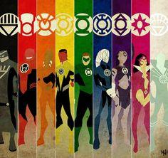 Conheça todas as diferentes Tropas dos Lanternas e seus juramentos!