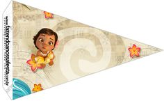 Moana Bebé: Imprimibles Gratis para Fiestas.