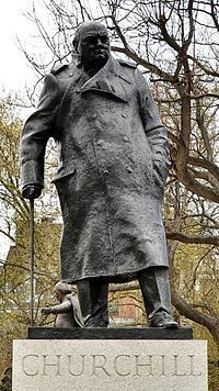 Statue of Winston Churchill, Parliament Square -London Winston Churchill, Churchill Quotes, Zeus Statue, Greek Statues, Buddha Statues, New Beginning Quotes, Berlin, Bronze, In This Moment