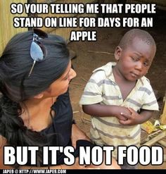 Skeptical 3rd world kid