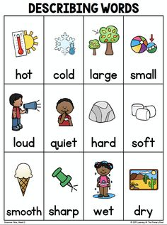 5 Fun Activities for Teaching Adjectives in the Primary Grades - Learning at the Primary Pond