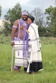 Xhosa Wedding ~ In December His Royal Highness Unathi Phathuxolo Mtirara, a member of the AbaThembu Royal family, married a celebrated soprano Nonhlanhla Yende in a traditional Xhosa royal wedding ceremony held in the Eastern Cape.