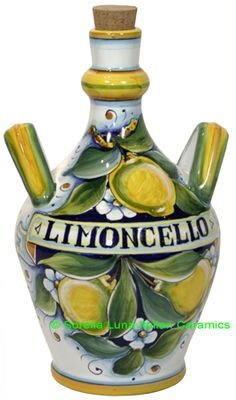 Sorrento is know for growing lemons and making limoncello. Love it.