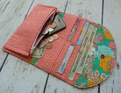 Women's Fabric Wallet Wallet Credit Card Holder por Shoppebylola