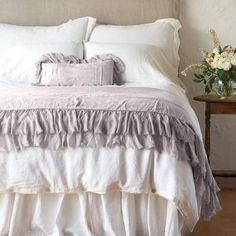 Valentina Personal Comforter With Sil Linen Bedding, Bedding Sets, Bed Linen, Neutral Bedding, Duvet Bedding, Black Bedding, French Country Bedding, Bed Scarf, Bedding Collections
