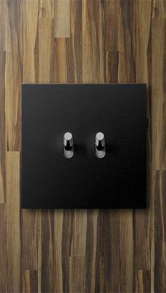 Art d'Arnould - Brut et minimaliste, pour sublimer l'essentiel. #Arnould #doubleinterrupteur #élégant