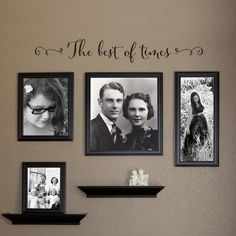 Family where life begins and love never ends Decal Family Decor Gallery Wall Decal Living Room Art Ver. 2 : Family where life begins and love never ends Wall Decal is the perfect addition to your picture wall! Family Pictures On Wall, Wall Decor Pictures, Family Photos, Wall Stickers Love, Wall Decals, Inspiration Wand, Living Room Vinyl, Photowall Ideas, Family Wall Decor