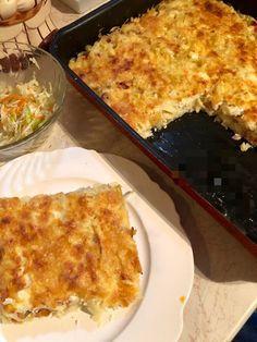 Ταλιατέλες με αλλαντικά και τυριά στον φούρνο !!! ~ ΜΑΓΕΙΡΙΚΗ ΚΑΙ ΣΥΝΤΑΓΕΣ 2 Cookbook Recipes, Cooking Recipes, Macaroni And Cheese, Pizza, Ethnic Recipes, Spaghetti, Rice, Food, Greek Language