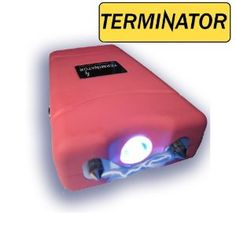 Terminator 7,800,000 V Stun Gun with LED Flashlight