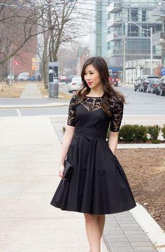 Design your own dress! The little black dress by Eshakti - customizable dresses