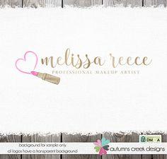 makeup artist logo make-up artists logo by autumnscreek on Etsy