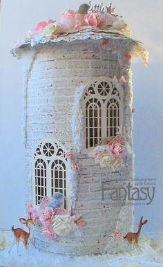 """FANTASY: Как я это делаю: """"Замок маленькой принцессы"""""""
