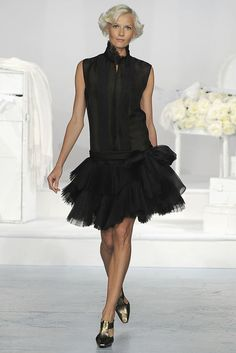 Charles Nolan Spring 2009 Ready-to-Wear Fashion Show - Katia Kokoreva