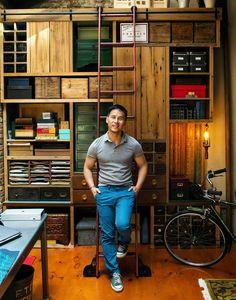 B.D. Wong's custom s
