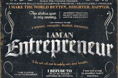 Entrepreneurs make the world a better place. -Patrick Bet-David