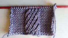 Learn to knit mock cables--Spiral stitch edition. (Free pattern with pictures!)