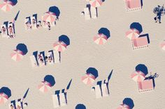 Gray Malin Pink Umbrellas