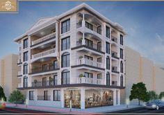 Architecture Building Design, Building Facade, Modern Architecture, House Front Design, Modern House Design, Exterior House Colors, Exterior Design, Mix Use Building, Mansion Interior