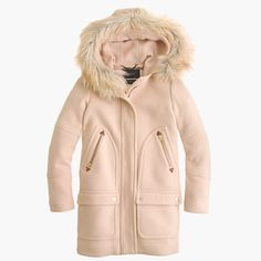 J.Crew - Chateau parka in stadium-cloth in pink
