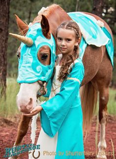 Kids Girls Purple Ride on Horse Fairytale Pegasus Pony Fancy Dress Costume