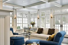 sunroom interiors | ... Crisp Architects - Home Bunch - An Interior Design & Luxury Homes Blog
