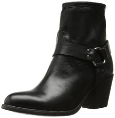 FRYE Women's Tabitha Harness Short Boot ^^ More infor at the link of image  : Boots for women