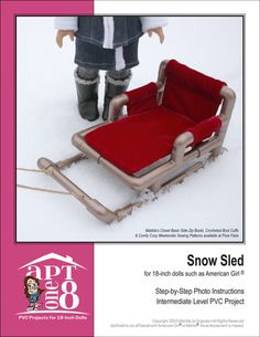 SNOW SLED PVC PATTERN