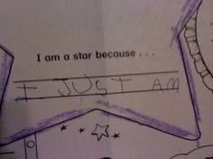 Kids know that they are awesome.
