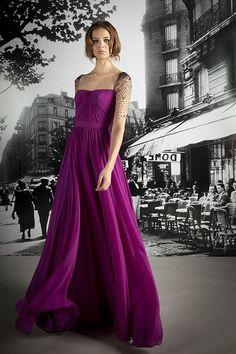 Purpple dress!