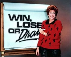 Watching Win, Lose or Draw — hosted by Vicki Lawrence — whenever you stayed home sick:   38 Things That Will Take '80s Kids Back To Their Elementary School Days